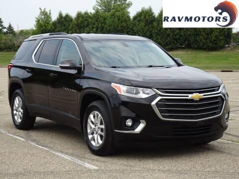 2018 Chevrolet Traverse for sale at RAVMOTORS in Burnsville MN