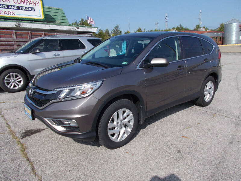2016 Honda CR-V for sale at Governor Motor Co in Jefferson City MO