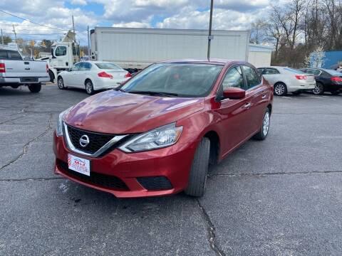 2016 Nissan Sentra for sale at M & J Auto Sales in Attleboro MA