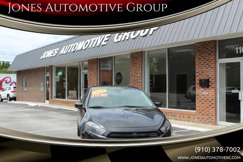 2016 Dodge Dart for sale at Jones Automotive Group in Jacksonville NC