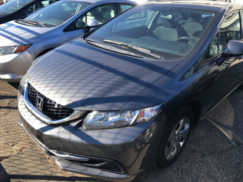 2013 Honda Civic for sale at Chris Auto Sales in Springfield MA