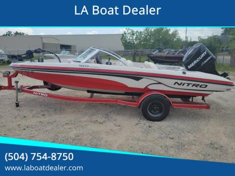 2007 Nitro 189 Sport for sale at LA Boat Dealer - Sport Boats in Metairie LA