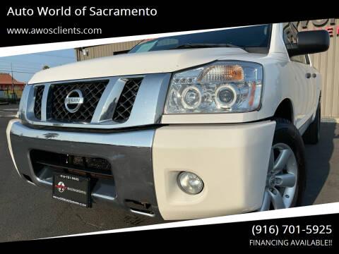 2010 Nissan Titan for sale at Auto World of Sacramento Stockton Blvd in Sacramento CA