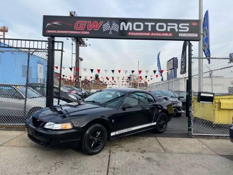 2002 Ford Mustang for sale at GW MOTORS in Newark NJ
