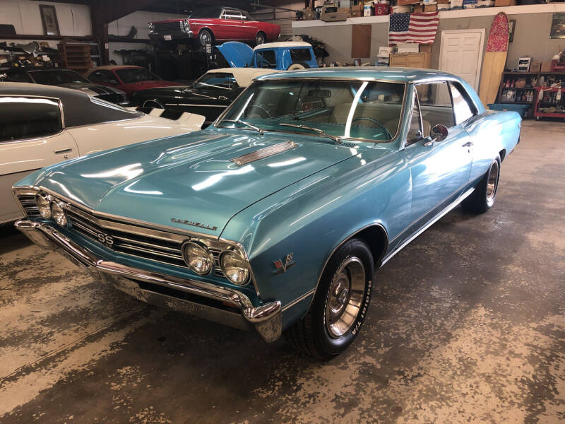 1967 Chevrolet Chevelle for sale at Classic Connections in Greenville NC