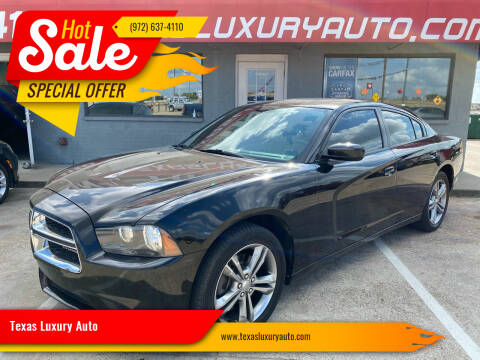 2014 Dodge Charger for sale at Texas Luxury Auto in Cedar Hill TX