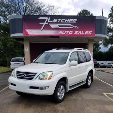 2004 Lexus GX 470 for sale at Fletcher Auto Sales in Augusta GA
