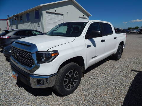 2018 Toyota Tundra for sale at West Motor Company - West Motor Ford in Preston ID