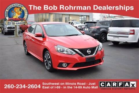 2019 Nissan Sentra for sale at BOB ROHRMAN FORT WAYNE TOYOTA in Fort Wayne IN