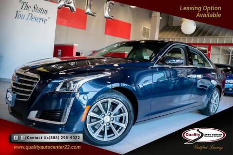 2018 Cadillac CTS for sale at Quality Auto Center in Springfield NJ