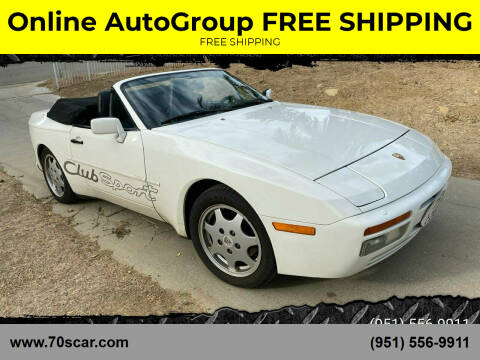 1990 Porsche 944 for sale at Online AutoGroup FREE SHIPPING in Riverside CA