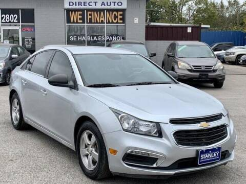 2015 Chevrolet Cruze for sale at Stanley Automotive Finance Enterprise - STANLEY CHRYSLER DODGE JEEP RAM GATESVILLE in Gatesville TX