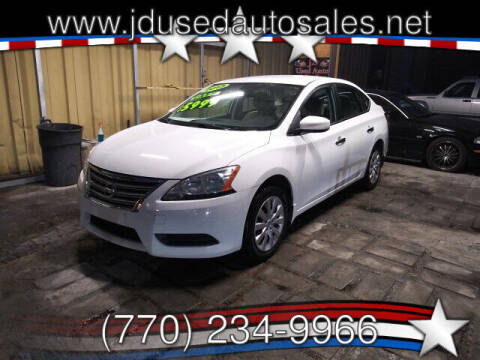 2015 Nissan Sentra for sale at J D USED AUTO SALES INC in Doraville GA
