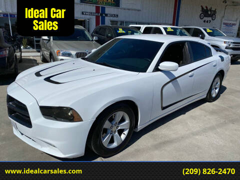 2012 Dodge Charger for sale at Ideal Car Sales in Los Banos CA