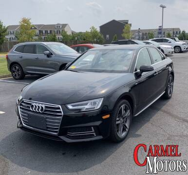 2018 Audi A4 for sale at Carmel Motors in Indianapolis IN
