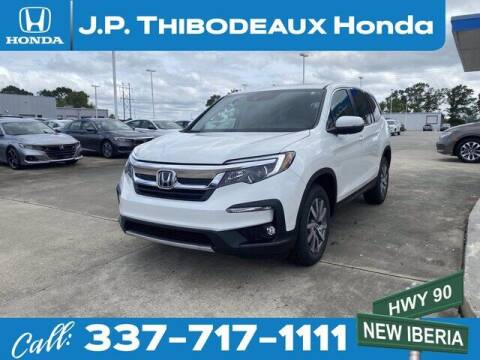 2021 Honda Pilot for sale at J P Thibodeaux Used Cars in New Iberia LA