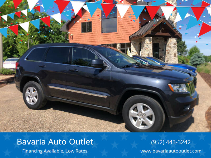 2013 Jeep Grand Cherokee for sale at Bavaria Auto Outlet in Victoria MN