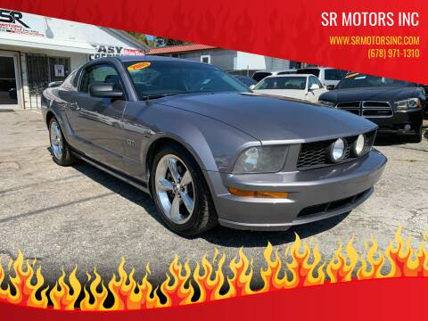 2006 Ford Mustang for sale at SR Motors Inc in Gainesville GA
