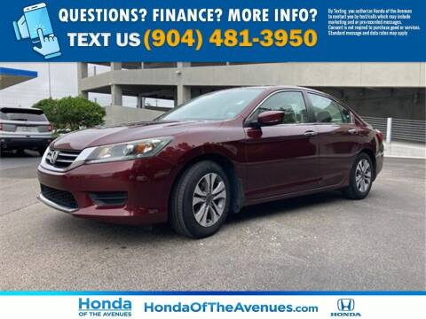 2015 Honda Accord for sale at Honda of The Avenues in Jacksonville FL