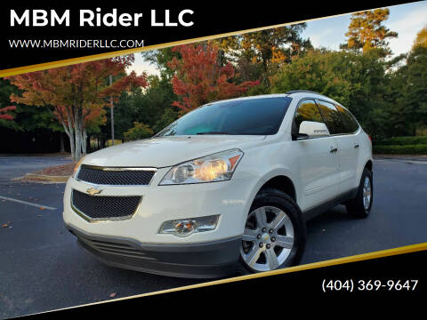 2012 Chevrolet Traverse for sale at MBM Rider LLC in Alpharetta GA