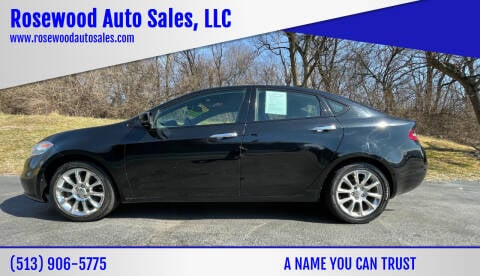 2013 Dodge Dart for sale at Rosewood Auto Sales, LLC in Hamilton OH