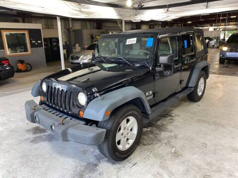 2008 Jeep Wrangler Unlimited for sale at LUXURY IMPORTS AUTO SALES INC in North Branch MN