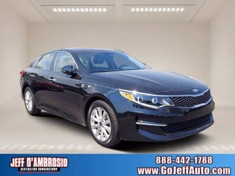 2016 Kia Optima for sale at Jeff D'Ambrosio Auto Group in Downingtown PA