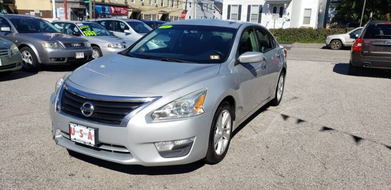 2013 Nissan Altima for sale at Union Street Auto in Manchester NH