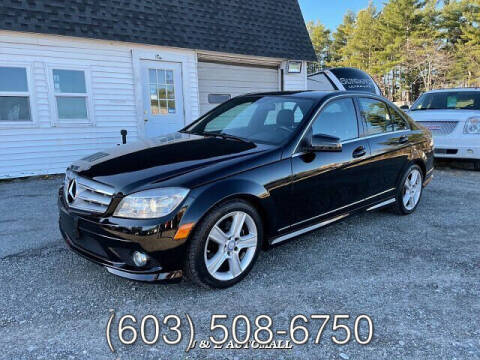 2010 Mercedes-Benz C-Class for sale at J & E AUTOMALL in Pelham NH