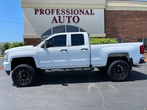 2017 Chevrolet Silverado 1500 for sale at Professional Auto Sales & Service in Fort Wayne IN