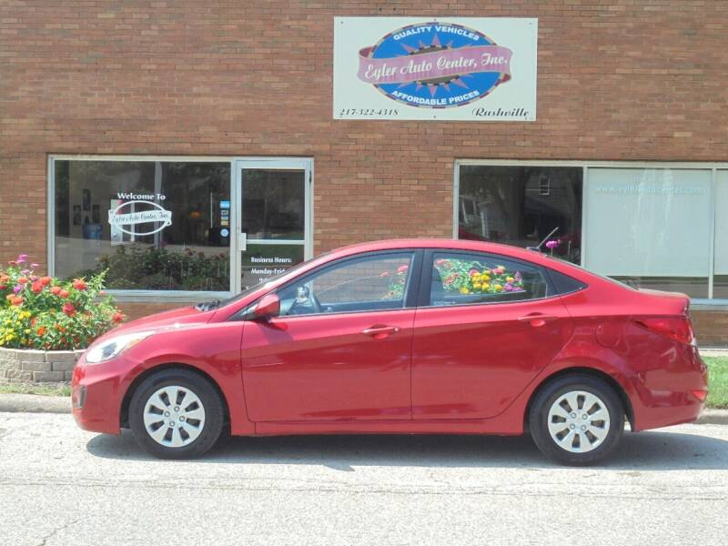 2015 Hyundai Accent for sale at Eyler Auto Center Inc. in Rushville IL