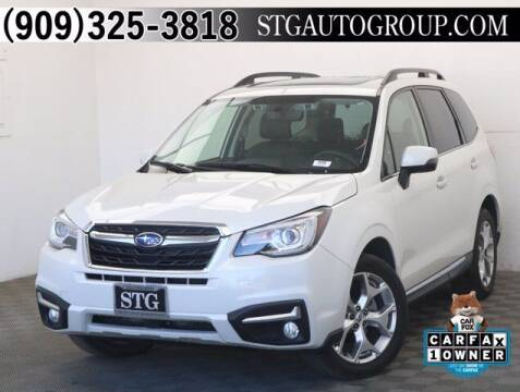 2018 Subaru Forester for sale at STG Auto Group in Montclair CA