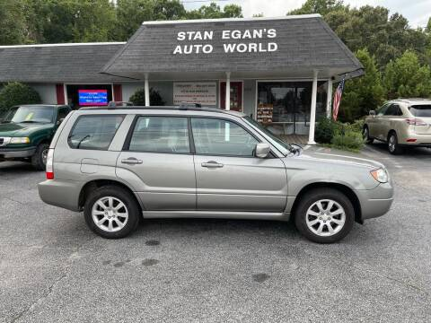 2006 Subaru Forester for sale at STAN EGAN'S AUTO WORLD, INC. in Greer SC