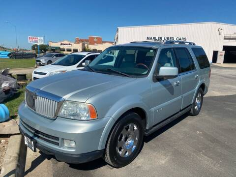 2005 Lincoln Navigator for sale at MARLER USED CARS in Gainesville TX