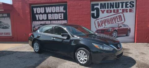 2016 Nissan Altima for sale at Memphis Finest Auto, LLC in Memphis TN