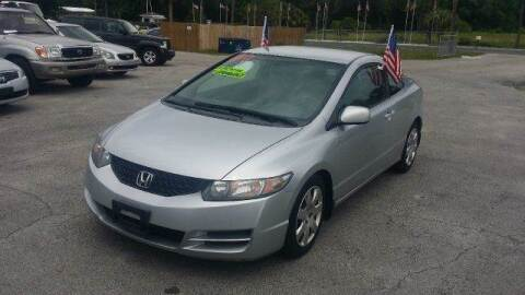 2009 Honda Civic for sale at GOLDEN GATE AUTOMOTIVE,LLC in Zephyrhills FL