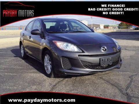 2012 Mazda MAZDA3 for sale at Payday Motors in Wichita And Topeka KS