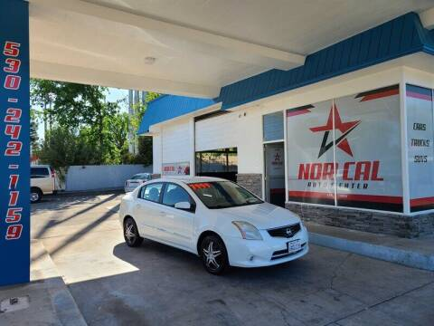 2012 Nissan Sentra for sale at Nor Cal Auto Center in Anderson CA