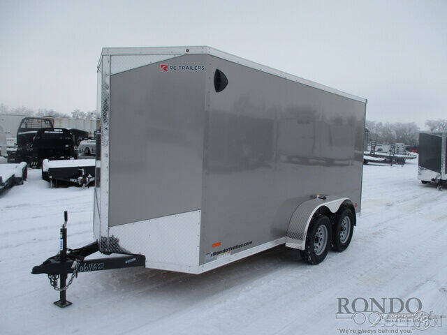 2021 RC Trailers Enclosed Cargo RDLX 6X14TA2 for sale at Rondo Truck & Trailer in Sycamore IL
