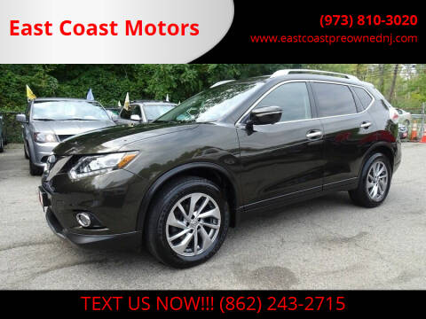 2014 Nissan Rogue for sale at East Coast Motors in Lake Hopatcong NJ