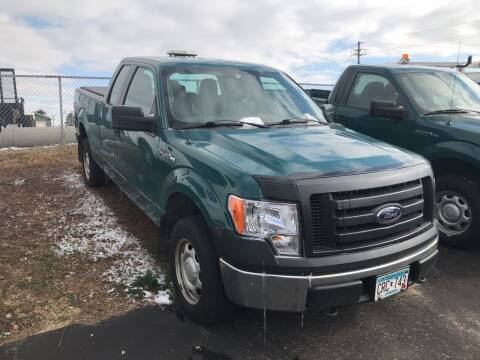 2012 Ford F-150 for sale at CARGO VAN GO.COM in Shakopee MN