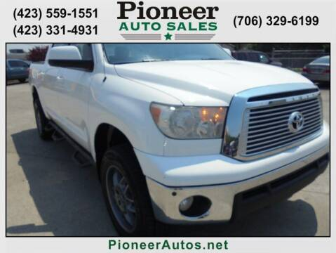 2013 Toyota Tundra for sale at PIONEER AUTO SALES LLC in Cleveland TN