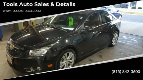 2014 Chevrolet Cruze for sale at Tools Auto Sales & Details in Pontiac IL