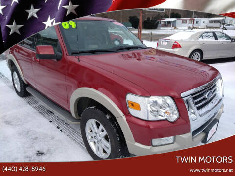 2009 Ford Explorer for sale at TWIN MOTORS in Madison OH