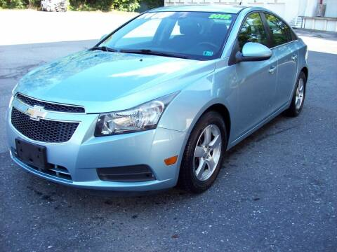2012 Chevrolet Cruze for sale at Clift Auto Sales in Annville PA
