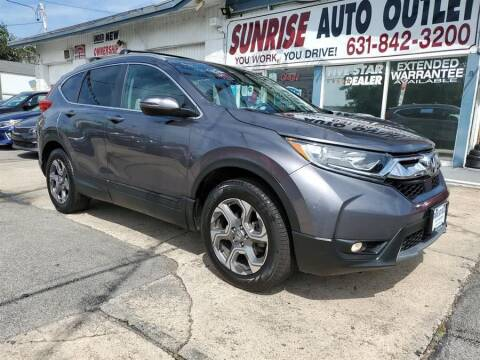2017 Honda CR-V for sale at Sunrise Auto Outlet in Amityville NY