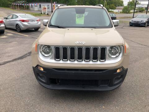 2015 Jeep Renegade for sale at USA Auto Sales in Leominster MA