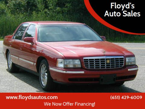 1999 Cadillac DeVille for sale at Floyd's Auto Sales in Stillwater MN