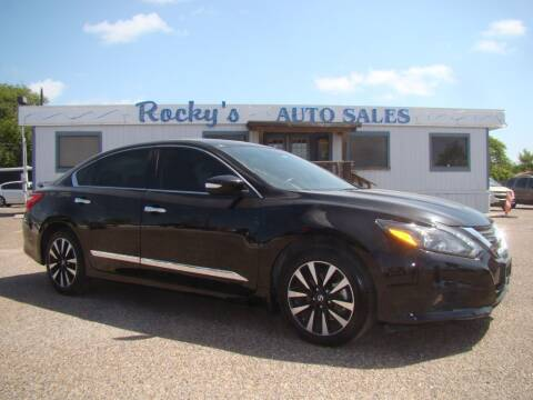 2017 Nissan Altima for sale at Rocky's Auto Sales in Corpus Christi TX
