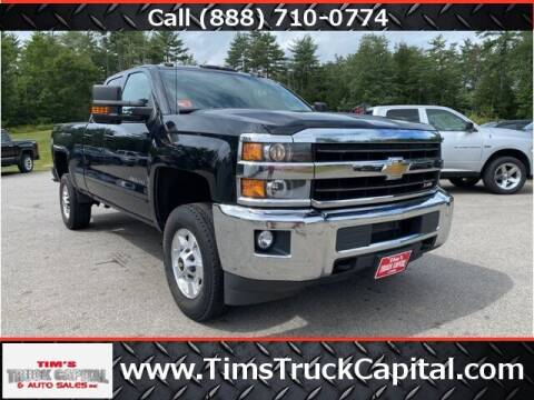 2018 Chevrolet Silverado 2500HD for sale at TTC AUTO OUTLET/TIM'S TRUCK CAPITAL & AUTO SALES INC ANNEX in Epsom NH